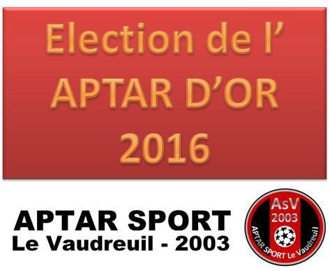 2016 - APTAR D'OR 2016