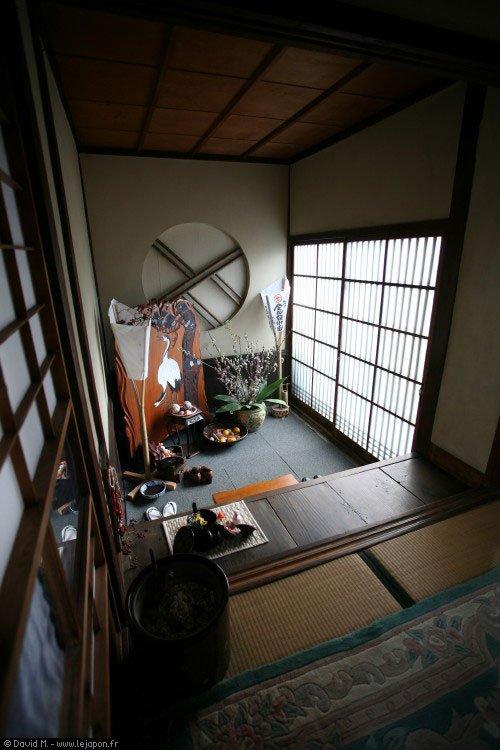 Les maisons traditionnelles japonaises otaku power for Meuble japonais moderne