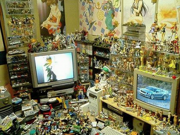 Les chambres d 39 otaku otaku power for Geek bedroom ideas