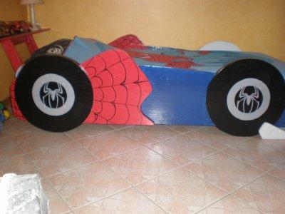 Le lit voiture de spiderman id e d co pas cher - Spiderman voiture ...