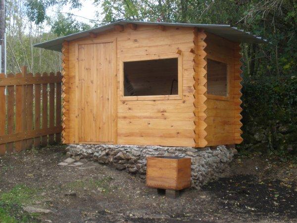 abri de jardin de 6m2 240 3 me partie id e d co pas cher. Black Bedroom Furniture Sets. Home Design Ideas