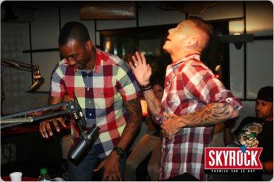 Wayne Beckford et M Pokora dans planète rap