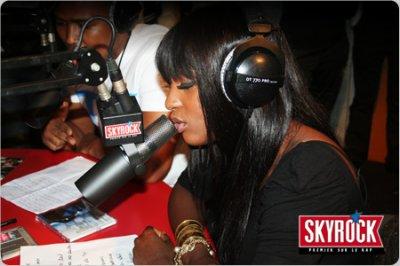 Awa Imani dans planète rap