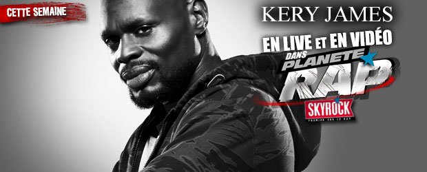 Prends la place de Fred Musa et pose ta question à Kery James dans Planète Rap sur @SkyrockFm