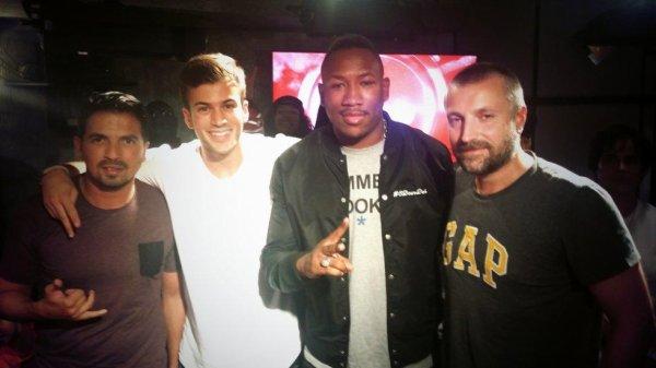 Tunisiano, David Carreira, Mokobe et Fred