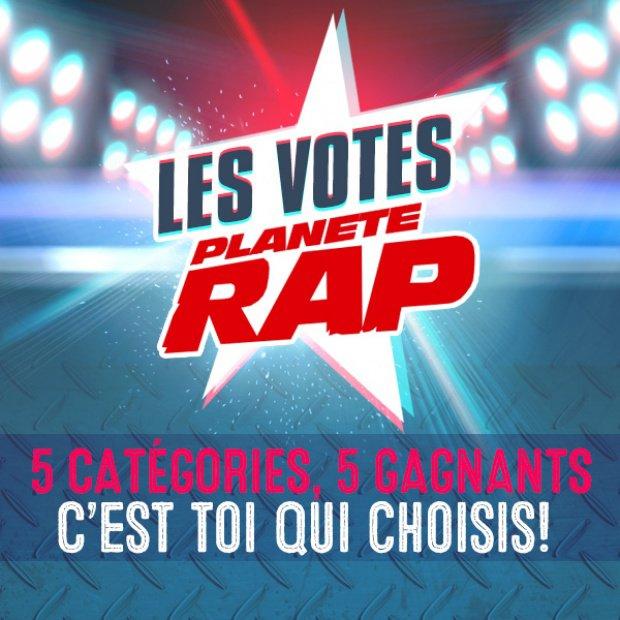 Les Votes Planète Rap c'est le 1er décembre !