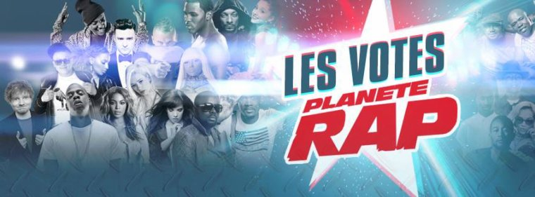 Votes Planète Rap 2014