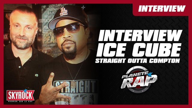 Fred interview Ice Cube