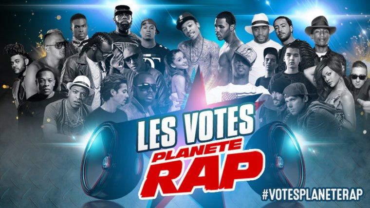 Votes Planète Rap 2015