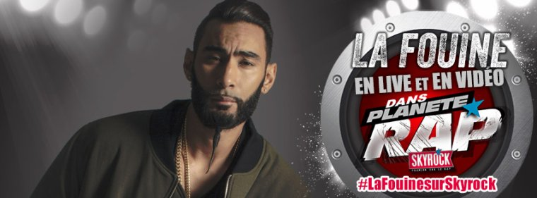 Fred re�oit La Fouine