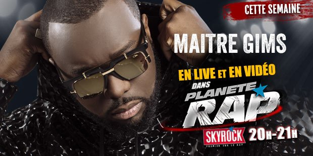 Fred re�oit Maitre Gims