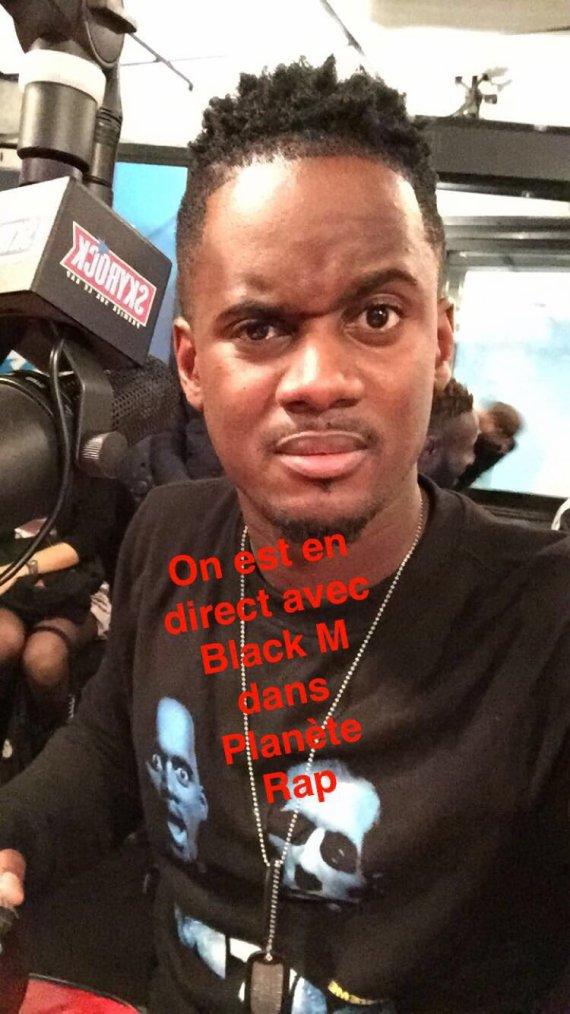 Black M dans Plan�te Rap !
