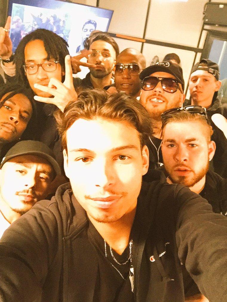 Gros freestyle de Georgio et ses invités dans Planète Rap