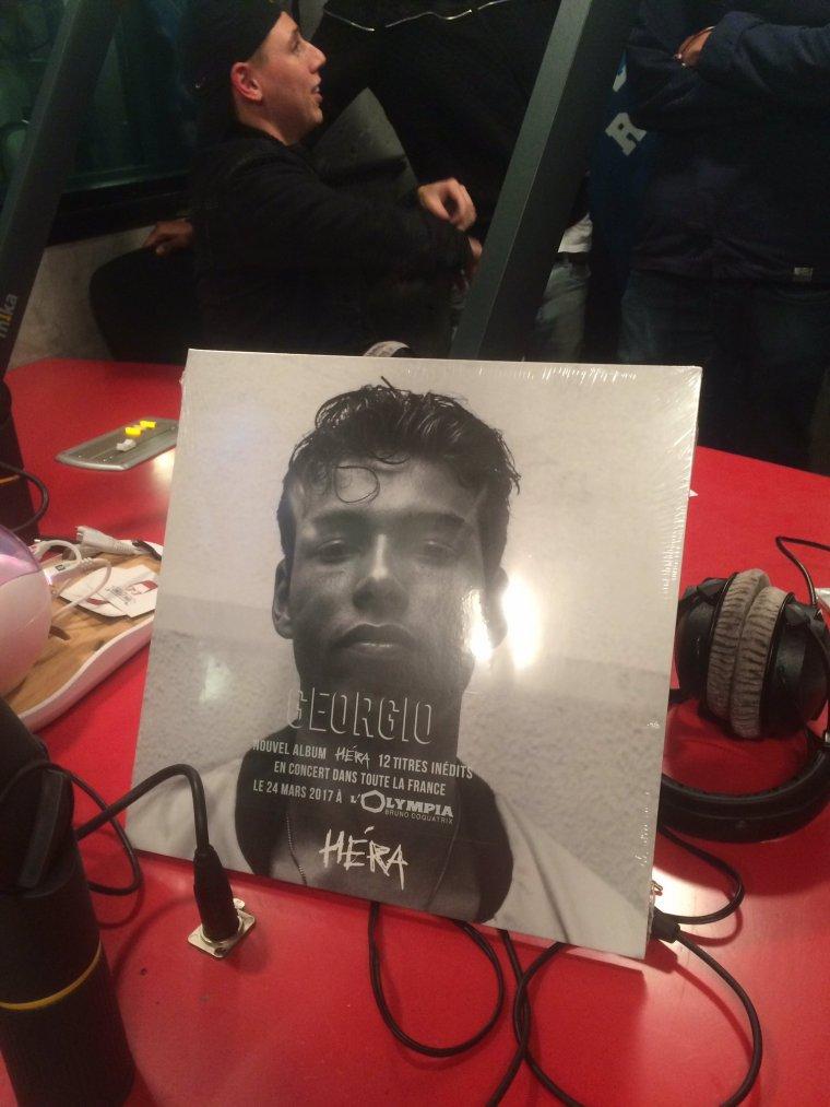 L'album de Georgio sort aujourd'hui !