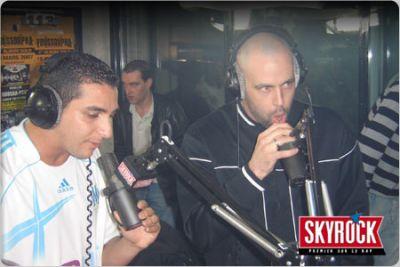 L'Algérino et Sinik dans Planète Rap.