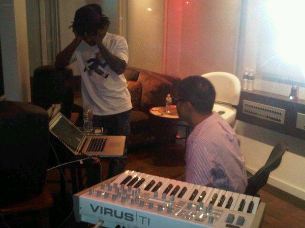N.E.R.D en studio - 27 août 2010