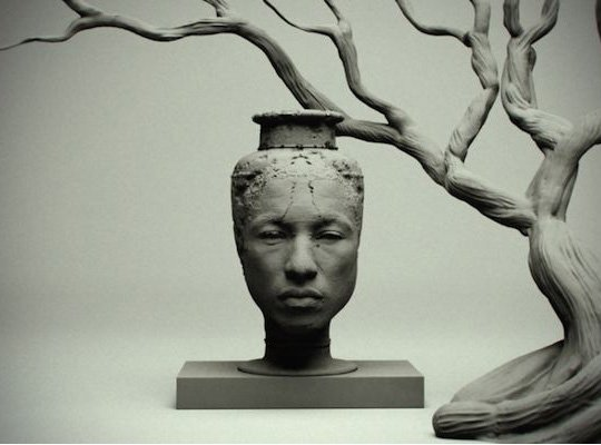 Le vase Pharrell Williams par Yi Zhou