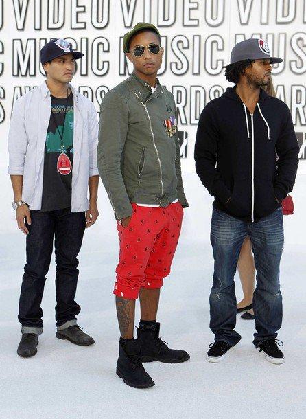 N.E.R.D - MTV Video Music Awards - Los Angeles, CA - 12 septembre 2010