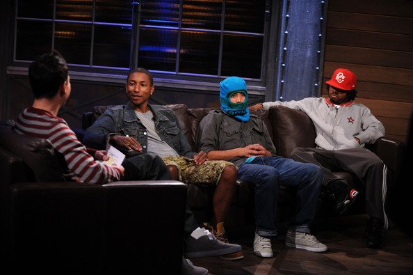 """N.E.R.D - Fuse's """"A Different Spin With Mark Hoppus"""" - New York, NY - 28 septembre 2010"""