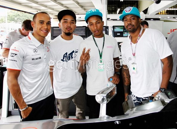 N.E.R.D - F1 Grand Prix Brésil - Sao Paulo, Brésil - 6 novembre 2010