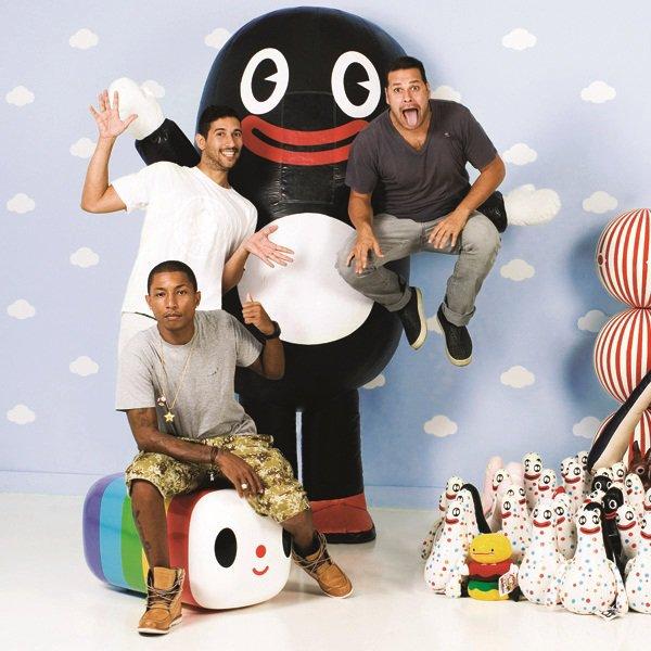 Pharrell Williams & Friends With You - PaperMag (Novembre 2010) -  Photo par Daniel Clavero