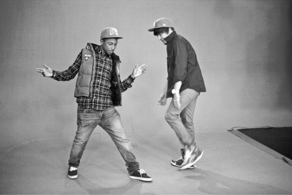 Pharrell - Sketch pour Jimmy Fallon