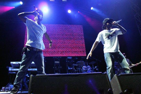 N*E*R*D - Summadayze Festival - Adelaide, Australie - 1er janvier 2011