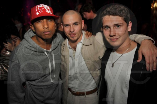 Pharrell - Cris Cab Live au Rokbar - Miami, FL - 23 janvier 2011