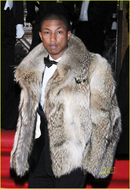 Pharrell Williams - Dîner Dolce&Gabbana & Martini - Moscou, Russie - 17 mars 2011