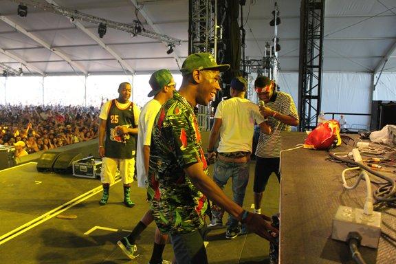 Pharrell - Coachella Festival avec Tyler The Creator - Californie - 15 avril 2011