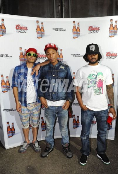 N*E*R*D - Coors Light Search For The Coldest - Baltimore, MD - 2 juin 2011