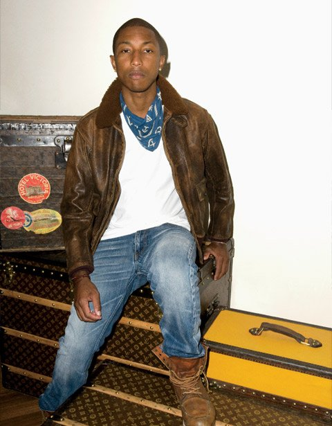 Pharrell - W Magazine Juillet 2011