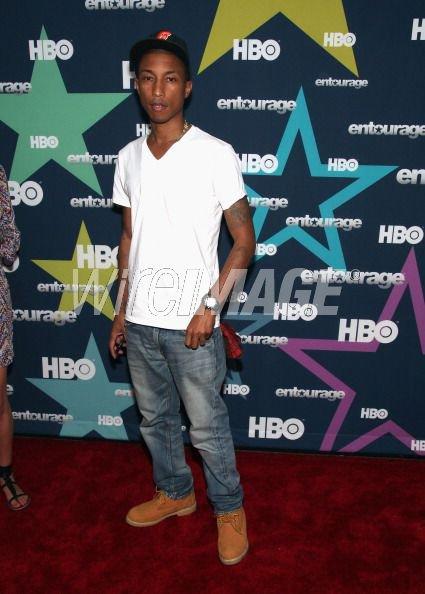 Pharrell - Lancement de la saison 8 d'Entourage - New York, NY - 19 juillet 2011