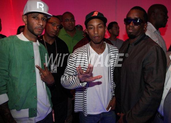 Pharrell - Reebok 'Reethym of Lite' campaign - New York, NY - 19 juillet 2011