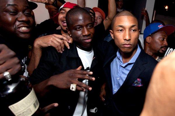Pharrell - Lancement de la G-Shock en collaboration avec Nigel Sylvester