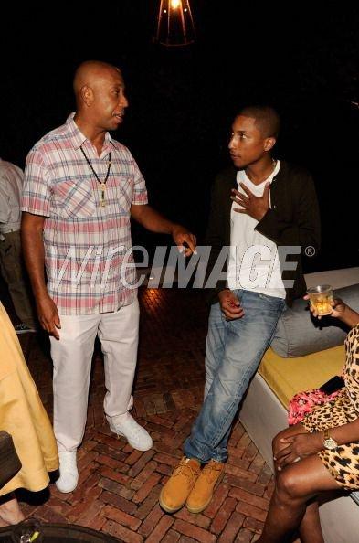 """Pharrell - """"2011 Apollo In The Hamptons"""" - New York, NY - 20 août 2011"""