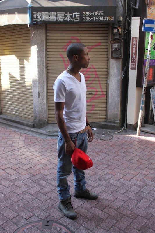 Pharrell à Tokyo pour Palladium - Tokyo Rising