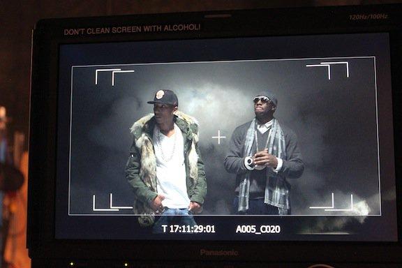 "Tournage du clip de ""Here Ye, Hear Ye"" avec T.I. - Novembre 2011"