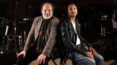 Hans Zimmer & Pharrell à propos des Oscars pour le LA Times - Février 2012
