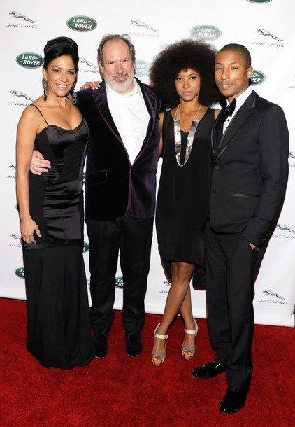 Pharrell - Hans Zimmer's Oscar Party - Hollywood, CA - 26 février 2012