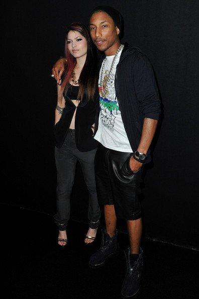 Pharrell - Paris Fashion Week : Lanvin - Paris, France - 2 mars 2012