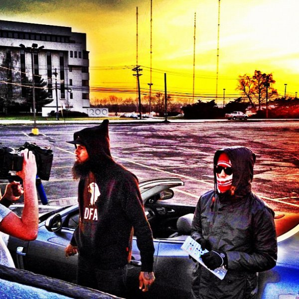 """Chad - Tournage du clip """"Everything New"""" - Fin Mars 2012"""