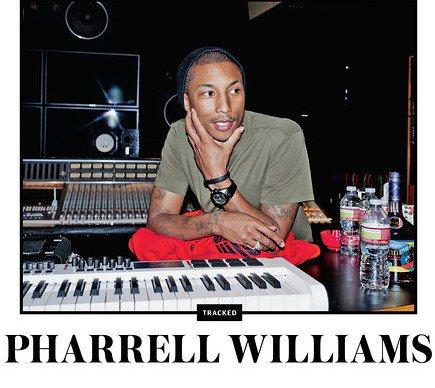 Une journée avec Pharrell ... (Janvier)