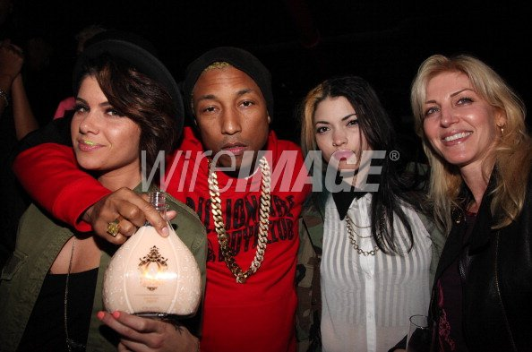 "Pharrell Williams & Jermaine Dupri présentent ""W.I.P Wednesday"" - New York City - 18 avril 2012"