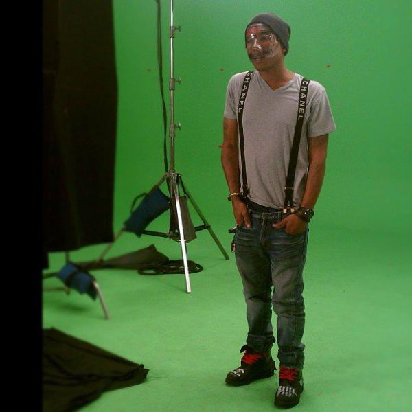 """""""Pharrell shoot"""""""