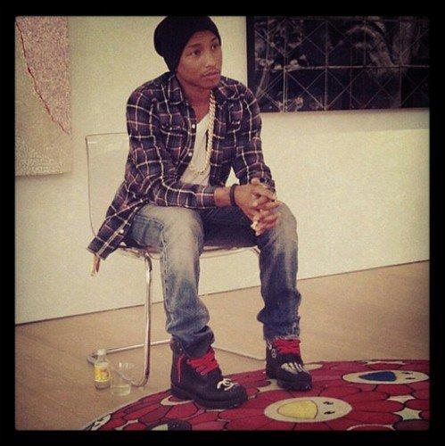 Pharrell - Hong Kong - 26 avril 2012