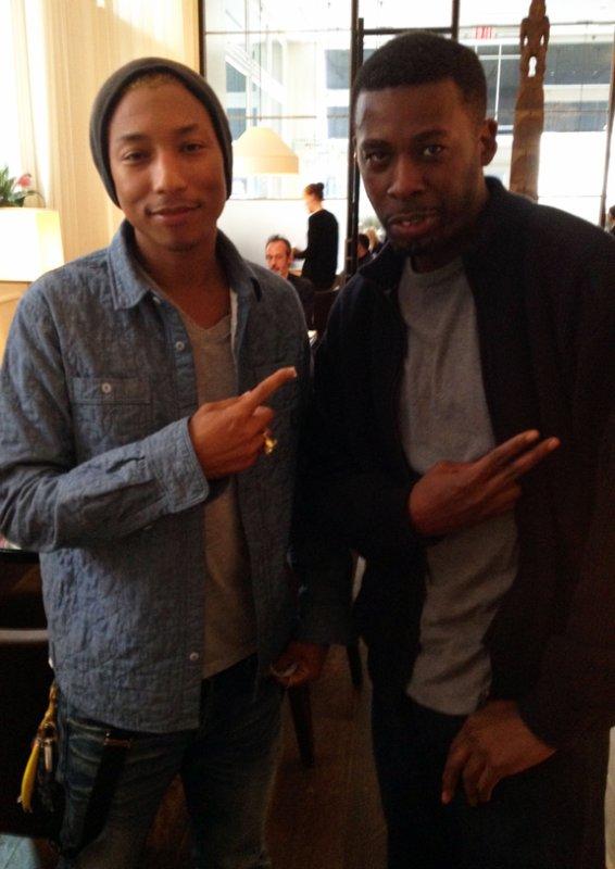 Pharrell & GZA (Wu-Tang Clan) - Manhattan - Mai 2012