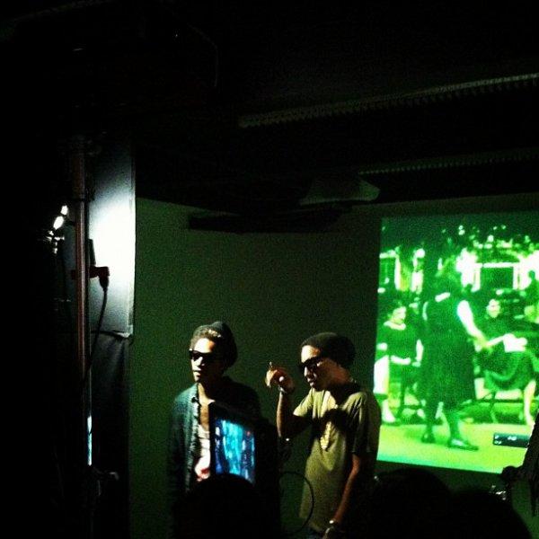 Pharrell - Tournage d'un clip de Wiz Khalifa - Juin 2012