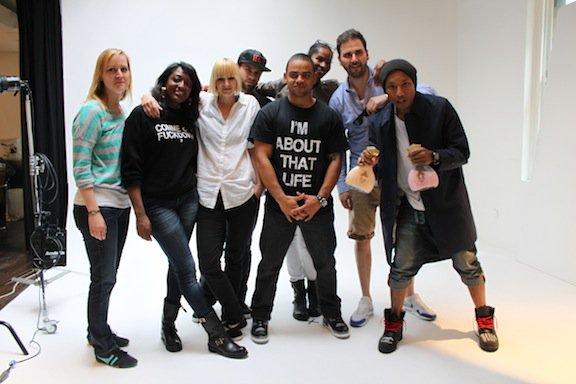 Pharrell - Photoshoot - Juin 2012