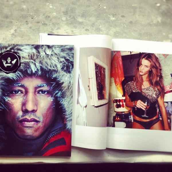 Pharrell - Hignsnobiety mag summer 2012